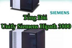 Tong Dai Unify Siemens Hipath3800
