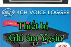 Thiet Bi Ghi Am Yosin